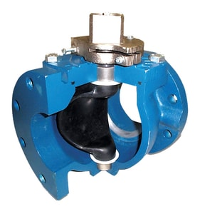 Milliken Valve Series 600 4 in. Buna-N Coated Cast Iron, EPDM and 316 SS Stainless Steel 175 psi Mechanical Joint Wheel Handle Plug Valve M600NP at Pollardwater