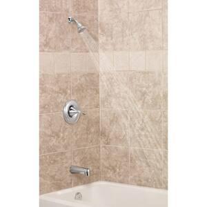Moen Eva™ Single Handle Single Function Bathtub & Shower Faucet in Polished Chrome Trim Only MT2133