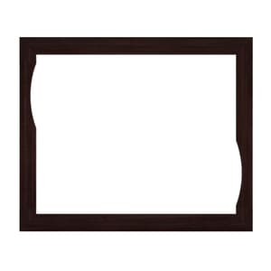 JACUZZI® Fuzion® 72 x 60 in. Wood Frame with No Control Cut-Out in Wenge JHB75935