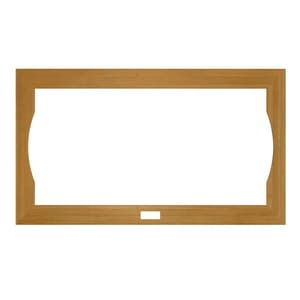 JACUZZI® Fuzion® 72 x 42 in. Optional Wood Frame for Jacuzzi Fuzion 7242 Whirlpool and Salon Spa in Teak JGU05936