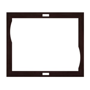 JACUZZI® Fuzion® 72 x 60 in. Wood Frame with Dual Zone Control Cut-Out in Wenge JHB76935