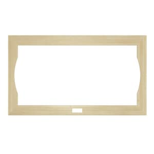 JACUZZI® Fuzion® 72 x 42 in. Optional Wood Frame for Jacuzzi Fuzion 7242 Whirlpool and Salon Spa in Unfinished JGU05900