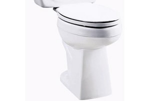 St. Thomas Creations Marathon™ Elongated Toilet Bowl in Bone with 10 in. Rough-In S620103302
