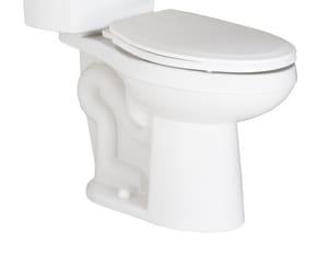PROFLO® Jerritt Series 1.6 gpf Elongated Floor Mount Two Piece Toilet Bowl in White PF1402TWH