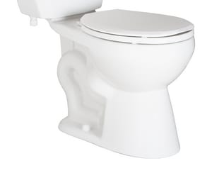 PROFLO® PF1500 Series 1.28 gpf Round Floor Mount Toilet Bowl in White PF1500CHWH