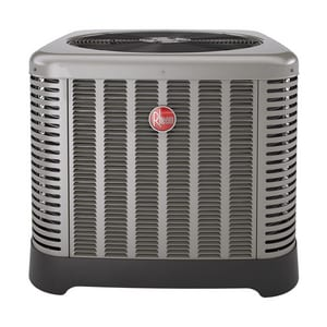Rheem RP15 Series 3 Ton 15 SEER Single-Stage R-410A 1/3 hp Heat Pump RP1536AJ1NA