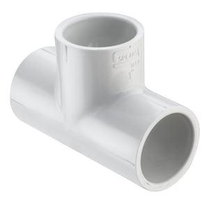 1-1/4 x 1-1/4 x 3/4 in. Socket Reducing Schedule 40 PVC Tee S401