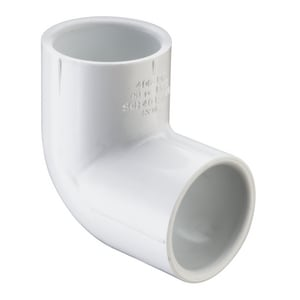 Spears 1-1/2 in. Socket Straight Schedule 40 PVC 90 Degree Elbow S406