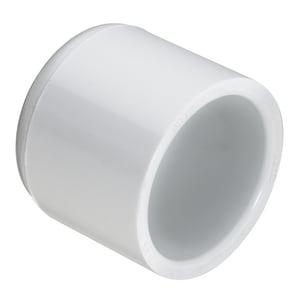4 in. Socket Schedule 40S Straight PVC Cap S447040