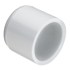 8 in. Socket Schedule 40S Straight PVC Cap S447080
