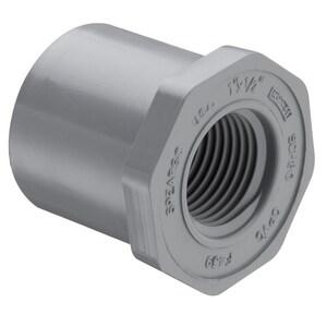 838 Series 1 x 1/2 in. Spigot x FIPT Reducing Schedule 80 CPVC Bushing S838130C