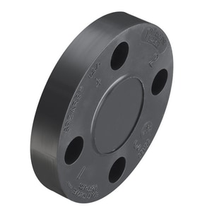 10 in. Blind Schedule 80 Webb PVC Flange S853100