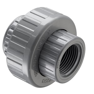1-1/2 in. FIPT Straight Schedule 80 CPVC Union with FKM O-Ring Seal S858015C