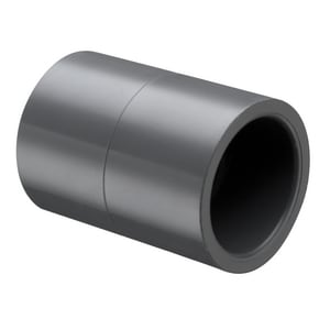 1-1/4 in. Slip Fabricated Straight Schedule 80 PVC Coupling S829012 at Pollardwater
