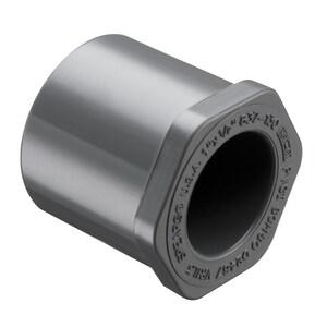 837 Series 1 x 3/4 in. Spigot x Socket Reducing Schedule 80 PVC Bushing S837131 at Pollardwater