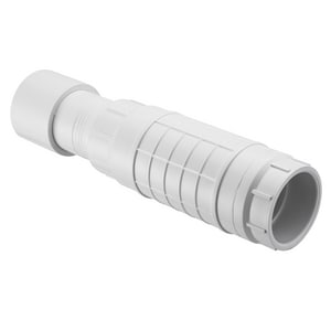 S119 Series 1-1/2 in. Socket Straight Schedule 40 PVC Coupling with EPDM O-Ring SS119