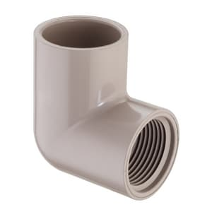 3/4 x 1/2 in. Socket x FIPT Reducing Schedule 40 PVC 90 Degree Elbow S407101UV