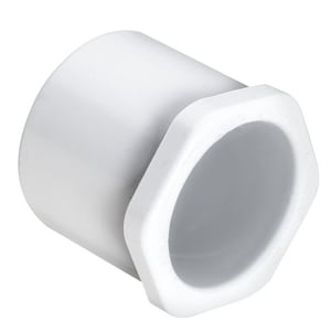 Spigot x Socket Reducing Schedule 40 PVC Bushing S437