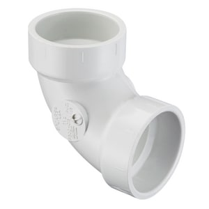 4 in. Hub Straight and DWV PVC 90 Degree Elbow SP300040