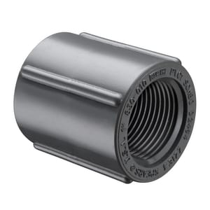3/8 in. FIPT Straight Schedule 80 PVC Coupling S830003