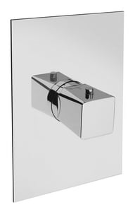 Fortis Serie Abruzzo Single Handle Bathtub & Shower Faucet in Polished Chrome (Trim Only) F9471100PC