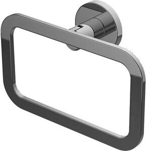 Graff Sento Rectangular Towel Ring in Polished Chrome GG9205PC