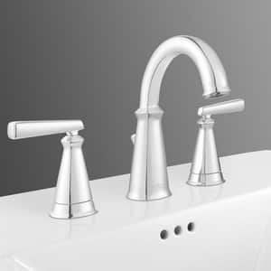 American Standard Edgemere® 3-Hole 1.2 gpm Deckmount Widespread Lavatory Faucet with Double Lever Handle A7018801