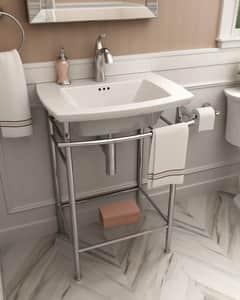 American Standard Edgemere® Pedestal Bathroom Sink in White A0445001020