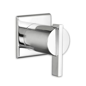 American Standard Times Square® Tub and Shower Diverter Valve with Single Lever Handle in Polished Chrome AT184430002