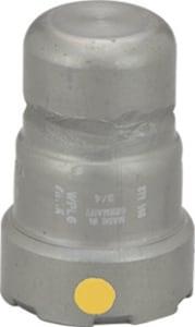 Viega MegaPress® 3/4 in. Press Carbon Steel Cap with HNBR Sealing Element V25736