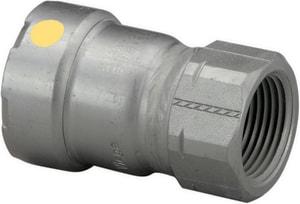 Viega MegaPress® 1-1/2 x 1-1/4 in. Press x FPT Carbon Steel Adapter V2557