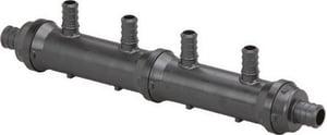 Viega PureFlow® Model V5031.2 160 psi Polyalloy Crimp 3/4 x 1/2 in. Valve Manifold V6515