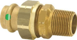 Viega ProPress® 1/2 in. Press x MPT Bronze Union V79730
