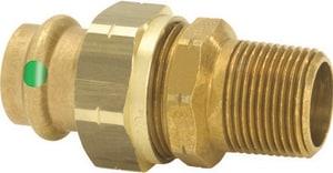 Viega ProPress® 1 in. Press x MPT Bronze Union V79740