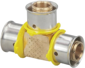 Viega PureFlow® 1/2 x 1/2 x 1/2 in. PEX Press Tee V940