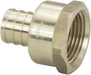 Viega 1/2 x 3/4 in. Brass PEX Crimp Female National Pipe Thread Adapter V46334