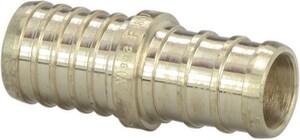 Viega 1 x 1 in. Brass PEX Crimp Adapter V46650