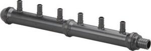 Viega PureFlow® Model V5031.22 160 psi Polyalloy Crimp 3/4 x 1/2 in. Valve Manifold V65104