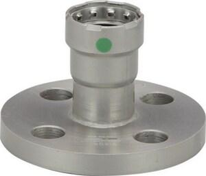 Viega MegaPress® 1-1/2 in. Press x Flanged Carbon Steel Flange with EPDM Sealing Element V25780