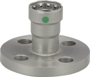 Viega MegaPress® 2 in. Press x Flanged Carbon Steel Flange with EPDM Sealing Element V25785