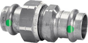 Viega 1-1/2 x 1-1/2 in. Press 316L Stainless Steel Union V810