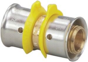 Viega PureFlow® 3/8 x 3/8 in. Bronze PEX Pressure Coupling V93000