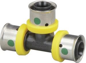 Viega PureFlow® 2 x 1-1/2 x 1 in. Press x Press x Press Plastic Tee V49985