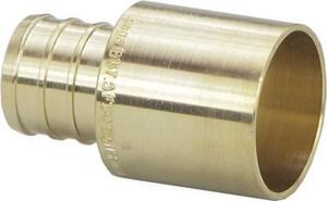 Viega 1 x 1 in. Brass Crimp Female Sweat Copper Adapter V40655