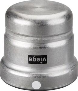 Viega MegaPress® 2-1/2 in. Press Straight Carbon Steel Cap V26760