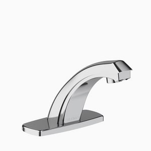 Sloan Valve Optima® 0.5 gpm 3-Hole Centerset Lavatory Battery Faucet in Polished Chrome S3315146