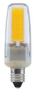 Satco 4W LED Bulb Mini Candelabra E-11 Base 3000 Kelvin 360 Degree Dimmable SS8684