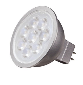 Satco 6.5W MR16 Dimmable LED Light Bulb with GU5.3 Base SS9490