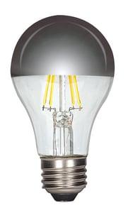 Satco 6.5W A19 LED Bulb Medium E-26 Base 2700 Kelvin 180° Dimmable SS9826