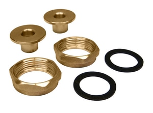 Grundfos 1/2 In. Bronze Half Sweat Union Set G529913